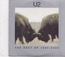 U2-The BEst Of 1990-2000 cd maxi single 4 tracks cardsleeve