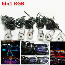 6in1 RGB LED 8M Car Interior Decor Neon EL Strip Light Bluetooth Remote Control