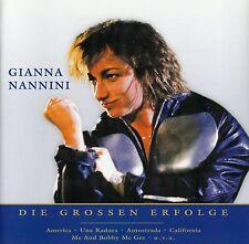 GIANNA NANNINI : NUR DAS BESTE - DIE GROSSEN ERFOLGE / CD - TOP-ZUSTAND