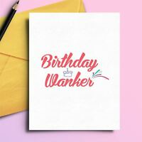 Happy Birthday Card Brother Husband Boyfriend Sister Dad Novelty Humourous