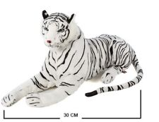 Soft Plush White Siberian Bengal Wild Tiger Teddy Toy Ornaments Baby Animal