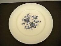 5 ENOCH WEDGWOOD ROYAL BLUE IRONSTONE TUNSTALL DINNER PLATES