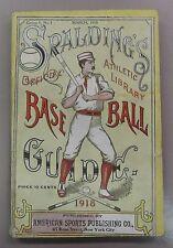 1918 Spalding's Official Baseball Guide