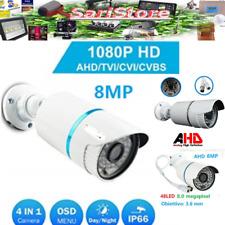TELECAMERA AHD 8MP HD SENSORE SONY 48 LED 1080p VIDEOSORVELGIANZA 3.6mm ESTERNO