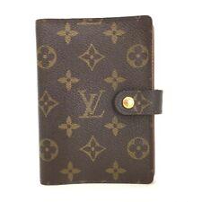 100% Authentic Louis Vuitton Monogram Agenda PM Notebook Cover /11649