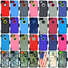 For Apple iPhone 5C/5S/SE Defender Case (Belt Clip Holster Fits OtterBox)