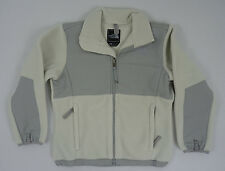 The North Face Girls YOUTH KIDS Denali Fleece Jacket Moonlight Ivory Grey Size S