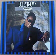 "BOBBY BROWN - Roni - MAXI LP VINYL 12"" 45 RPM 1989 NEAR MINT CONDITION"