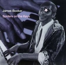 Spiders On The Keys-Live - James Booker (1998, CD NEUF)