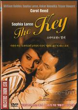 The Key (1958) DVD, NEW!! William Holden, Sophia Loren