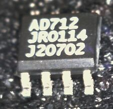 2 x AD712JR precision dual BiFet OpAmp SO8  Analog Devices 273933 AD712