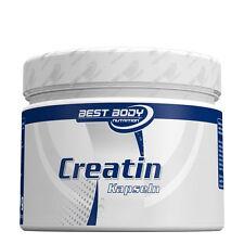 BEST BODY Creatin, 6,98€/100g, 200 Kapseln a. 1000mg