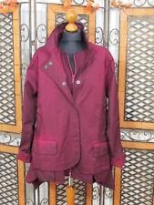 Barbara Speer ausgefallene Doppel Jacke in lila old look NEU!!!