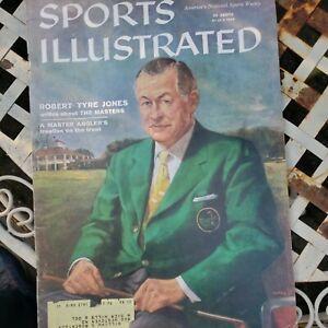 Sports Illustrated April 6 1959 Golf Issue Masters Robert Tyre Jones