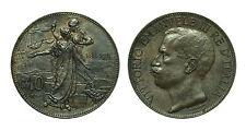 pcc1567_1) Vittorio Emanuele III (1900-1943) - 10 Centesimi Cinquantenario 1911