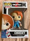 Chucky Funko Pop Vinyl Figure #56 Childs Play 2 Pop Horror Holding Knife Scarred