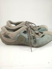 Merrell Women Relay Skip Oyster Blue Suede Performance Footwear US 7.5 EUR 38