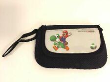 Nintendo 3DS Super Mario Yoshi Soft Carrying Case DS Lite DSi Travel Pouch