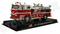 Fire Truck - Seagrave K-type Pumper - USA 1971 - 1/64 (No29)