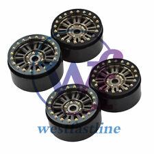 "4PCS Aluminum 1.9"" Beadlock Wheel Rim Fit 1:10 RC Crawler Axial SCX10II D90 TRX4"
