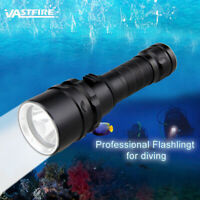 Waterproof 5000LM XML T6 LED Scuba Diving Flashlight Torch Light Underwater 100M