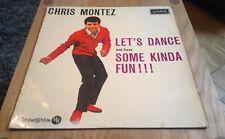 Chris Montez Let's Dance and have Some Kinda Fun MONO Vinyl LP HA-U.8079 VG+/VG+