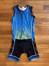 Girls boys unisex Dolphin Kick triathlon Tri suit size 12 Backward Zipping