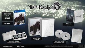 PS4 PlayStation 4 Nier Replicant Lunar Tear Edition 尼尔 人工生命 限定版 HK version Game