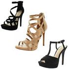 Jessica Simpson Rainah Bellanne Bassie Women's Strappy Dress Stiletto Sandals