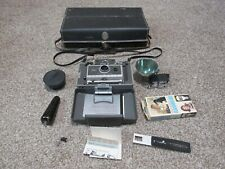 Vintage Polaroid 340 Automatic Land Camera Flash Model 340 Carry Case and more