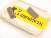 New Surplus 4pcs. Kennametal GC64 Grade: K68 Carbide Inserts