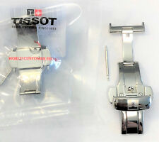 Original Tissot T640 22 AA Stainless Steel Clasp Deployment Buckle # T640-22-AA