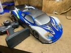RC 1/8 on road car nitro not sure on brand sold as is