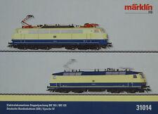 Märklin 31014 E-LOK -SET BR 120-103 TÜRKIS/BEIGE MFX DIGITAL/SOUND neu OVP
