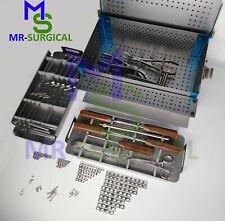 Veterinary Mini Micro Fragment Orthopedic System Kit 1.5mm 2.0-2.7-3.5-4.0mm