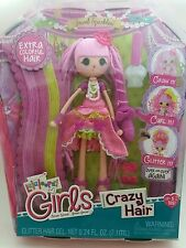 Lalaloopsy Girls Crazy Hair Jewel Sparkles Doll Colorful Grow Curl Glitter New