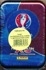 2016 Panini Adrenalyn XL UEFA EURO France Sealed Collectors TIN-4 Packs+LE !