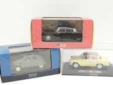 Ixo Presse 1/43 - Lot de 3 : Citroen 2CV AZ - Citroen DS 19 - Simca Aronde P60