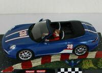 CARRERA 132 PORSCHE 911 CABRIO , mit Licht !!!, aus 30789 ohne Decoder