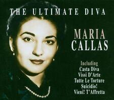 """Maria CALLAS """"THE ULTIMATE Diva"""" 11 tracks CD Opera NUOVO & OVP"""