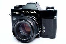 [EXC] Fujica ST801 LED Black 35mm Film SLR /SMC Takumar 55mm f/1.8 JAPAN #210803