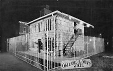 Carrollton Kentucky~Old Carroll County Stone Jail~Fenced In~Night Lights~1985 PC