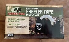 Weston~Mossy Oak~GameKeeper~Freezer Tape Dispenser~New Sealed~one roll of tape