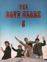 DAVE CLARK 5 CATCH US IF YOU CAN 1965 TOUR CONCERT PROGRAM BOOK / NMT 2 MINT