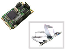 Carte MiniPCIe - COM RS232 + LPT IEEE1284 - 2+1 PORTS - Mini PCI Express