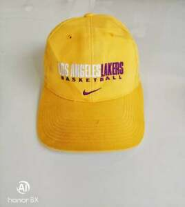 Los Angeles Lakers Basketball Nike Cap Hat