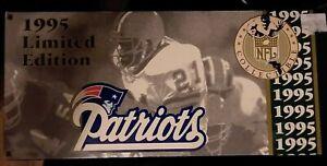 New England Patriots 1995 Limited Edition Die Cast NFL Semi Truck White Rose NIB
