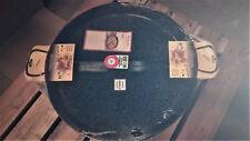 Eisenpfanne 60 cm zweigeteilt Emailliert 2 Griffe Paellapfanne Riesenpfanne