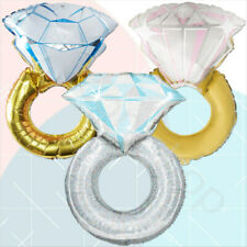 Diamond Ring Foil Balloon Wedding Engagement Party Decoration Helium Balloons