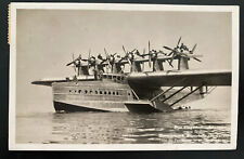 1930 Staad Switzerland RPPC Postcard Cover To Germany DOX Sea Plane